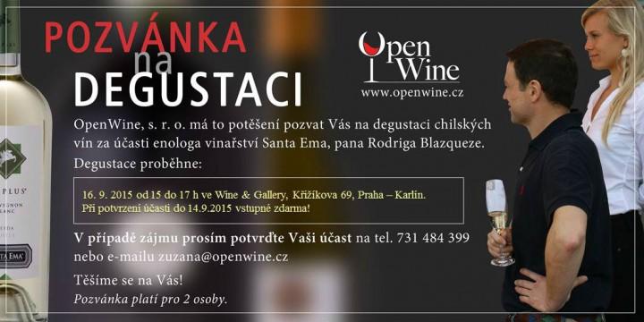 Pozvanka Rodrigo Wine&Gallery 16.9.