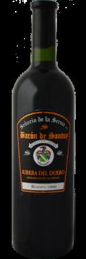 Señorio de La Serna Baron de Santuy Reserva DO Ribera del Duero_bottle-500x500